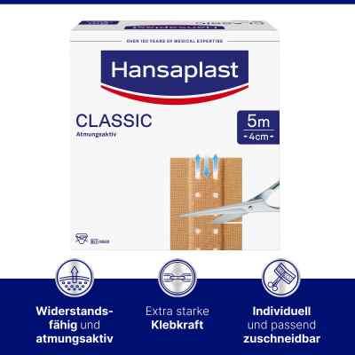 Hansaplast Classic Pflaster 5mx4cm plaster