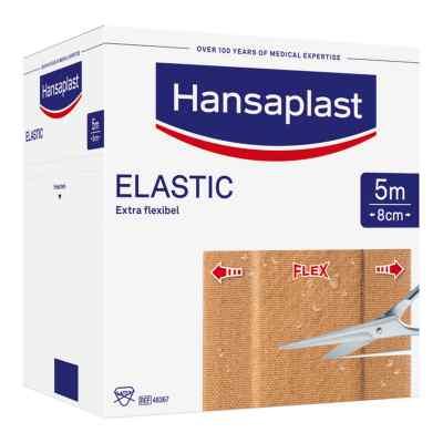 Hansaplast Elastic Pflaster 5mx8cm  zamów na apo-discounter.pl