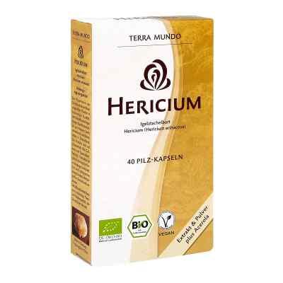 Hericium Vitalpilz Bio Terra Mundo kapsułki  zamów na apo-discounter.pl