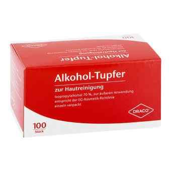 Waciki nasączone alkoholem pakowane pojedynczo