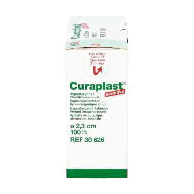 Curaplast Strips Sensitiv rund 2,3cm  zamów na apo-discounter.pl