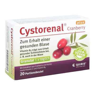 Cystorenal Cranberry plus  zamów na apo-discounter.pl