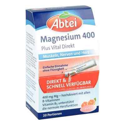 Abtei Magnez 400 mg + witamina B granulat  zamów na apo-discounter.pl
