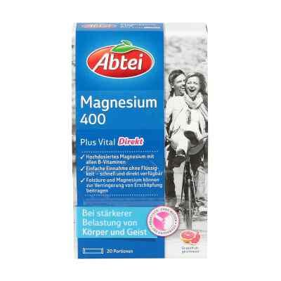 Abtei Magnez 400 mg + witamina B granulat