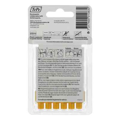 Tepe szczoteczka międzyzębowa 0,7mm żółta  zamów na apo-discounter.pl