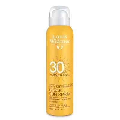 Louis Widmer ClearSun Spray przeciwsłoneczny UV30 lekko perf  zamów na apo-discounter.pl