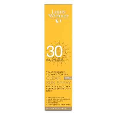 Louis Widmer ClearSun Spray przeciwsłoneczny UV30 nieperfum  zamów na apo-discounter.pl