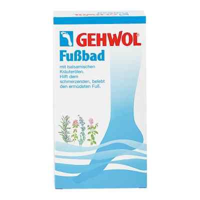 Gehwol kąpiel dla stóp - sól ziołowa z lawendą porcje 10x20g  zamów na apo-discounter.pl