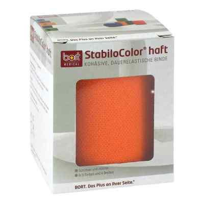 Bort Stabilocolor haft Binde 8cm orange  zamów na apo-discounter.pl