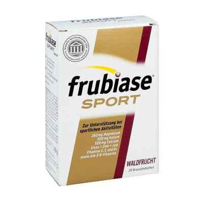 Frubiase Sport tabletki musujące o smaku owoców leśnych