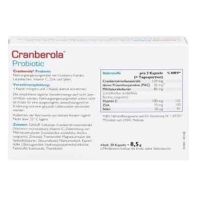 Cranberola Probiotic Kapseln  zamów na apo-discounter.pl