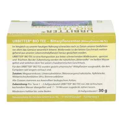 Urbitter Bio herbata z gorzkich ziół  zamów na apo-discounter.pl