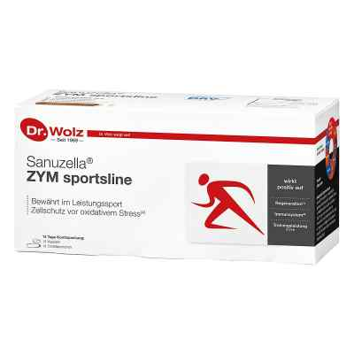 Dr Wolz Sanuzella Zym ampułki + kapsułki