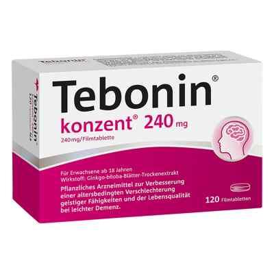Tebonin konzent 240 mg tabletki powlekane