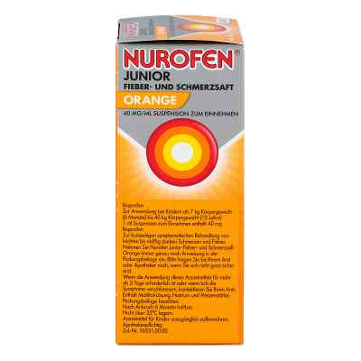 Nurofen Junior Fieb.+schmerzsaft Orange 40mg/ml  zamów na apo-discounter.pl