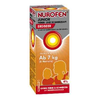 Nurofen Junior sok na ból i gorączkę truskawkowy 40mg/ml   zamów na apo-discounter.pl