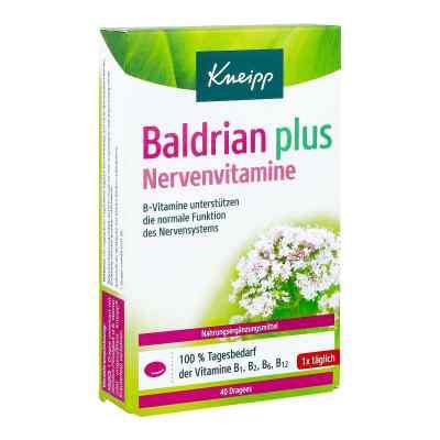 Kneipp Baldrian plus Nervenvitamine drażetki  zamów na apo-discounter.pl