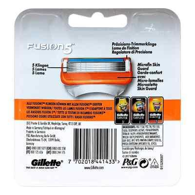 Gillette Fusion Rasierklin  zamów na apo-discounter.pl