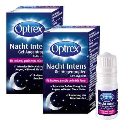 Optrex Nacht Intens Gel-augentropen 0,4 Hyaluron  zamów na apo-discounter.pl