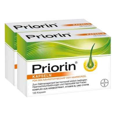 Priorin 2x120 zestaw na wypadanie włosów