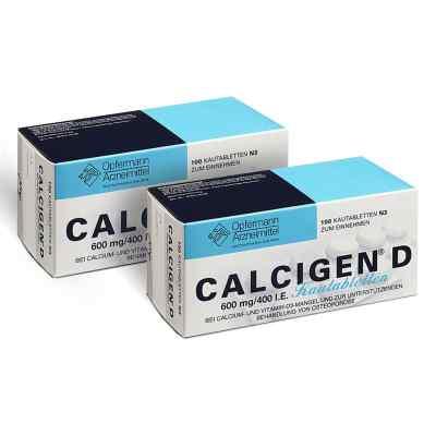Calcigen D 600 mg400 I.e. Kautabletten