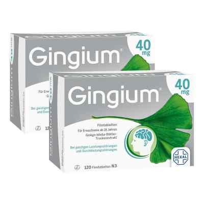 2x Gingium intens 40mg Kerze  zamów na apo-discounter.pl