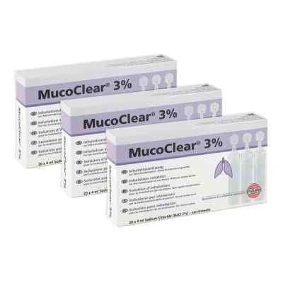 Mucoclear 3 Nacl Inhalationslösung  zamów na apo-discounter.pl
