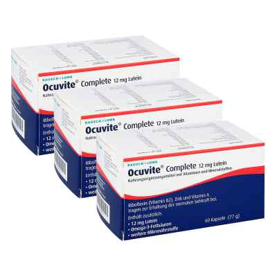Ocuvite Complete 12 mg Lutein Kapseln  zamów na apo-discounter.pl