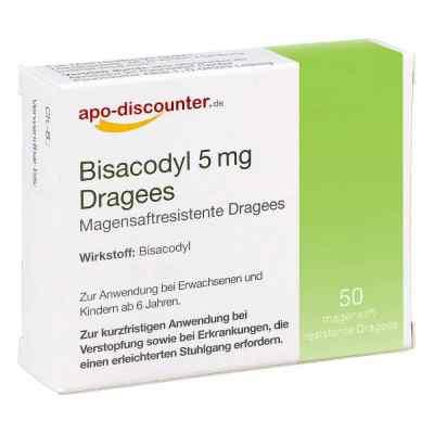 Bisacodyl 5mg Dragees von apo-discounter  zamów na apo-discounter.pl