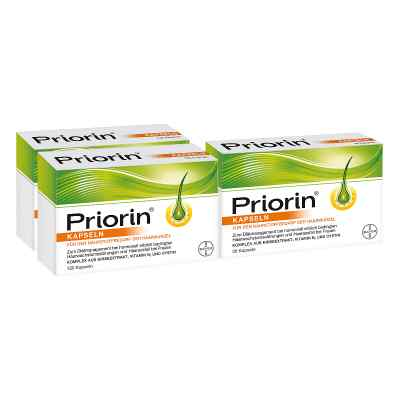 Priorin zestaw na 3-miesięczną kurację  zamów na apo-discounter.pl