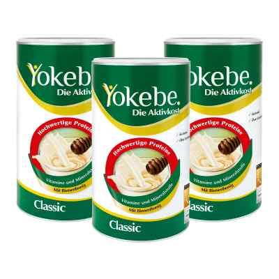 Yokebe Classic koktajl na odchudzanie w proszku 3x480g  zamów na apo-discounter.pl