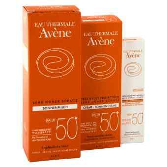 Avene Sunsitive  50 zestaw przeciwsłoneczny