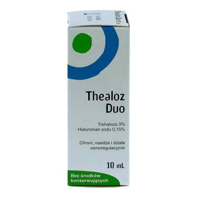 Thealoz Duo, krople do oczu  zamów na apo-discounter.pl