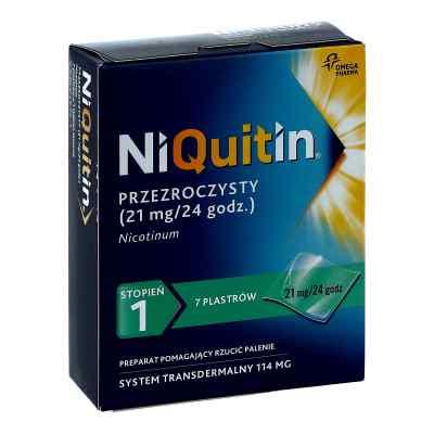 NiQuitin plastry stopień 1  zamów na apo-discounter.pl