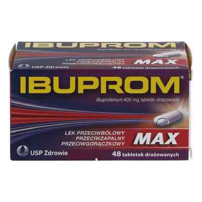 Ibuprom MAX 400mg drażetki  zamów na apo-discounter.pl