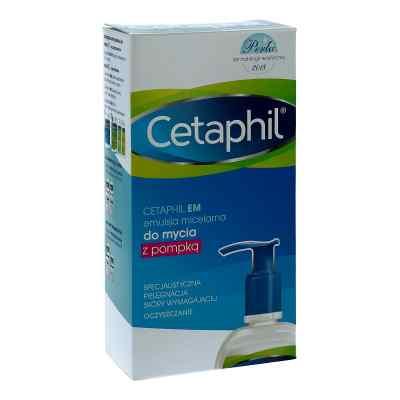 Cetaphil EM emulsja micelarna do mycia twarzy  zamów na apo-discounter.pl