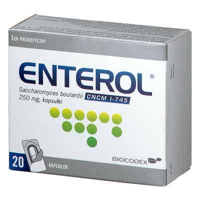 Enterol 250 mg kapsułki  zamów na apo-discounter.pl