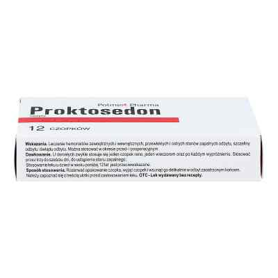 Proktosedon czopki  zamów na apo-discounter.pl