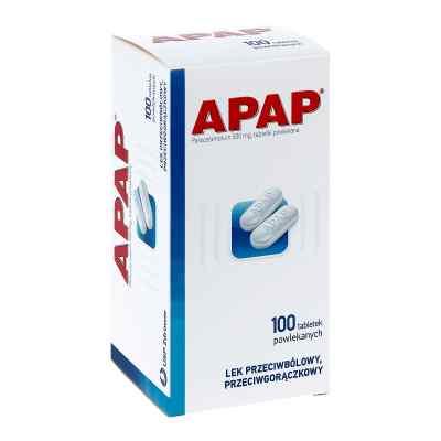 Apap 500 mg  zamów na apo-discounter.pl