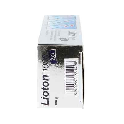 Lioton 1000 żel z heparyną  zamów na apo-discounter.pl