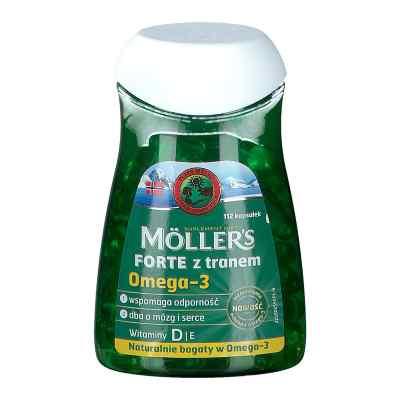 Mollers Forte z tranem kapsułki  zamów na apo-discounter.pl