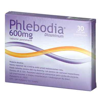 Phlebodia 600 mg  zamów na apo-discounter.pl