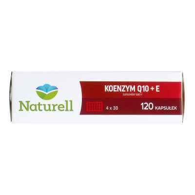 Naturell Koenzym Q10+E kapsułki  zamów na apo-discounter.pl
