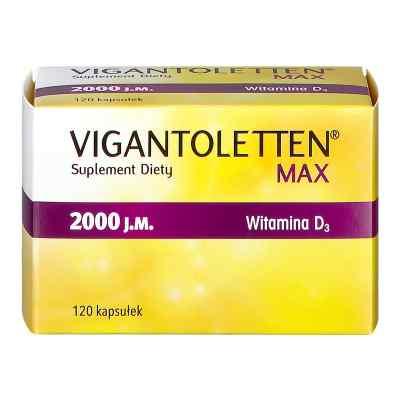 Vigantoletten Max 2000 j.m. kapsułki  zamów na apo-discounter.pl