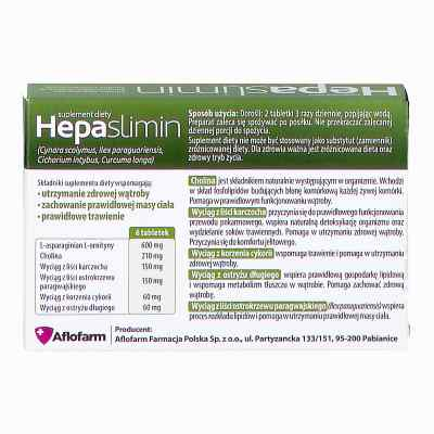 Hepaslimin tabletki  zamów na apo-discounter.pl