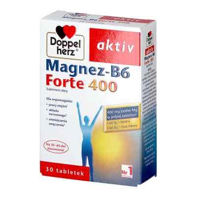 Doppelherz aktiv Magnez B6 Forte 400 tabletki  zamów na apo-discounter.pl