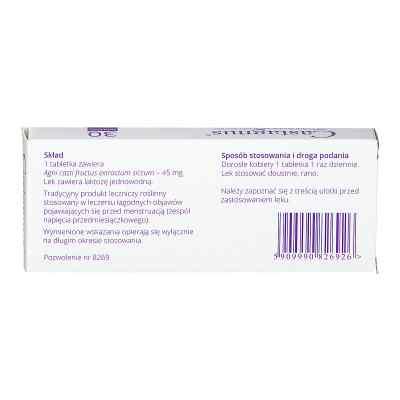 Castagnus 45mg tabletki  zamów na apo-discounter.pl