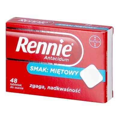 Rennie Antacidum tabletki do ssania  zamów na apo-discounter.pl