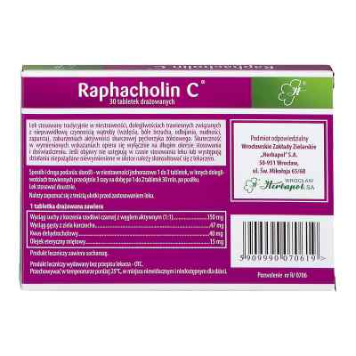 Raphacholin C  zamów na apo-discounter.pl