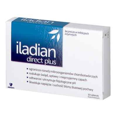 Iladian direct plus tabletki dopochwowe  zamów na apo-discounter.pl